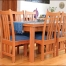 Custom Wood Table and Chairs